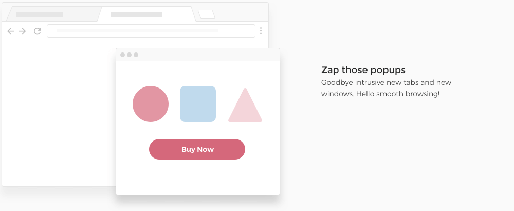 Zap those popups